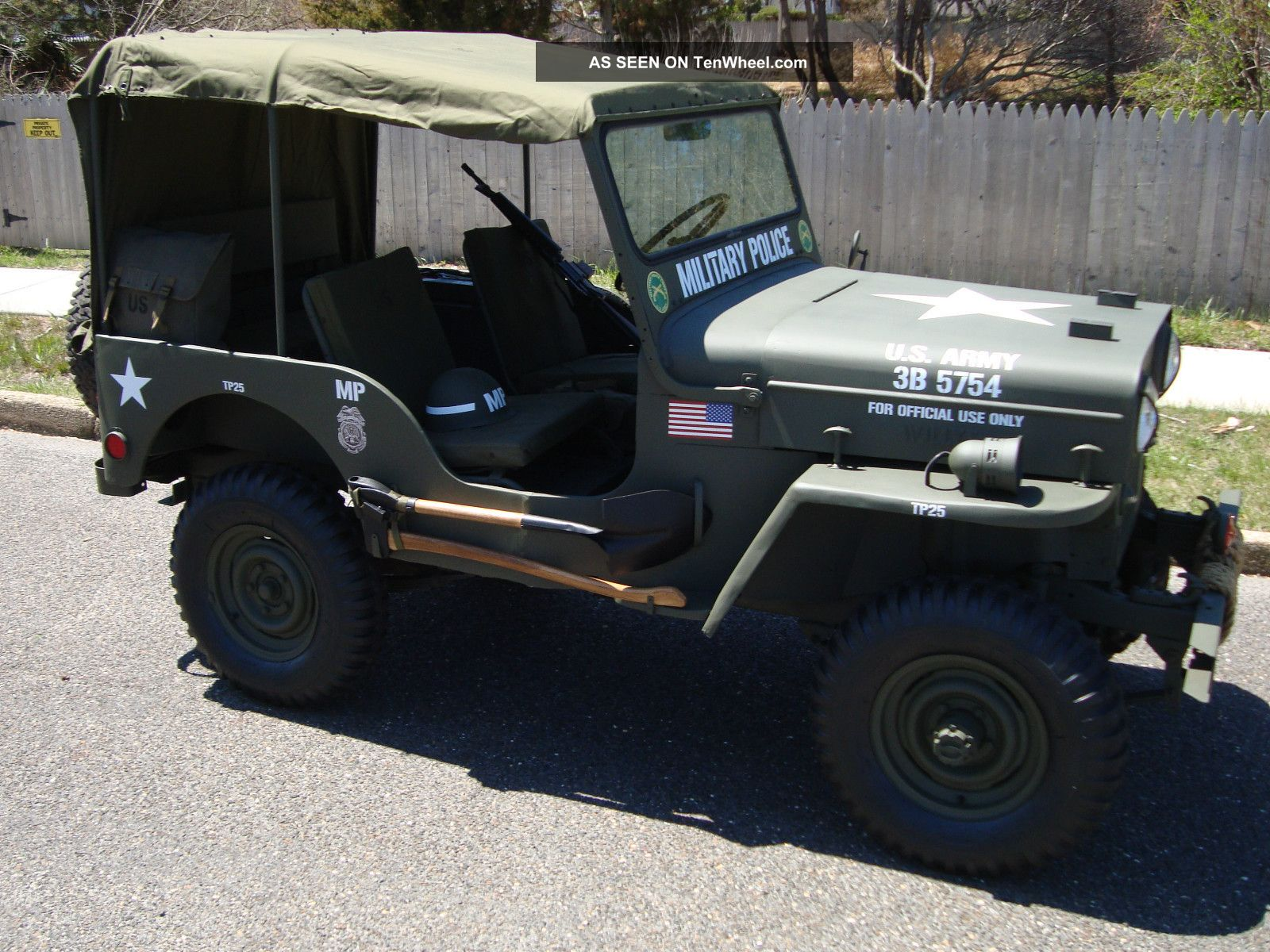 Willys CJ-3B 1960 #7