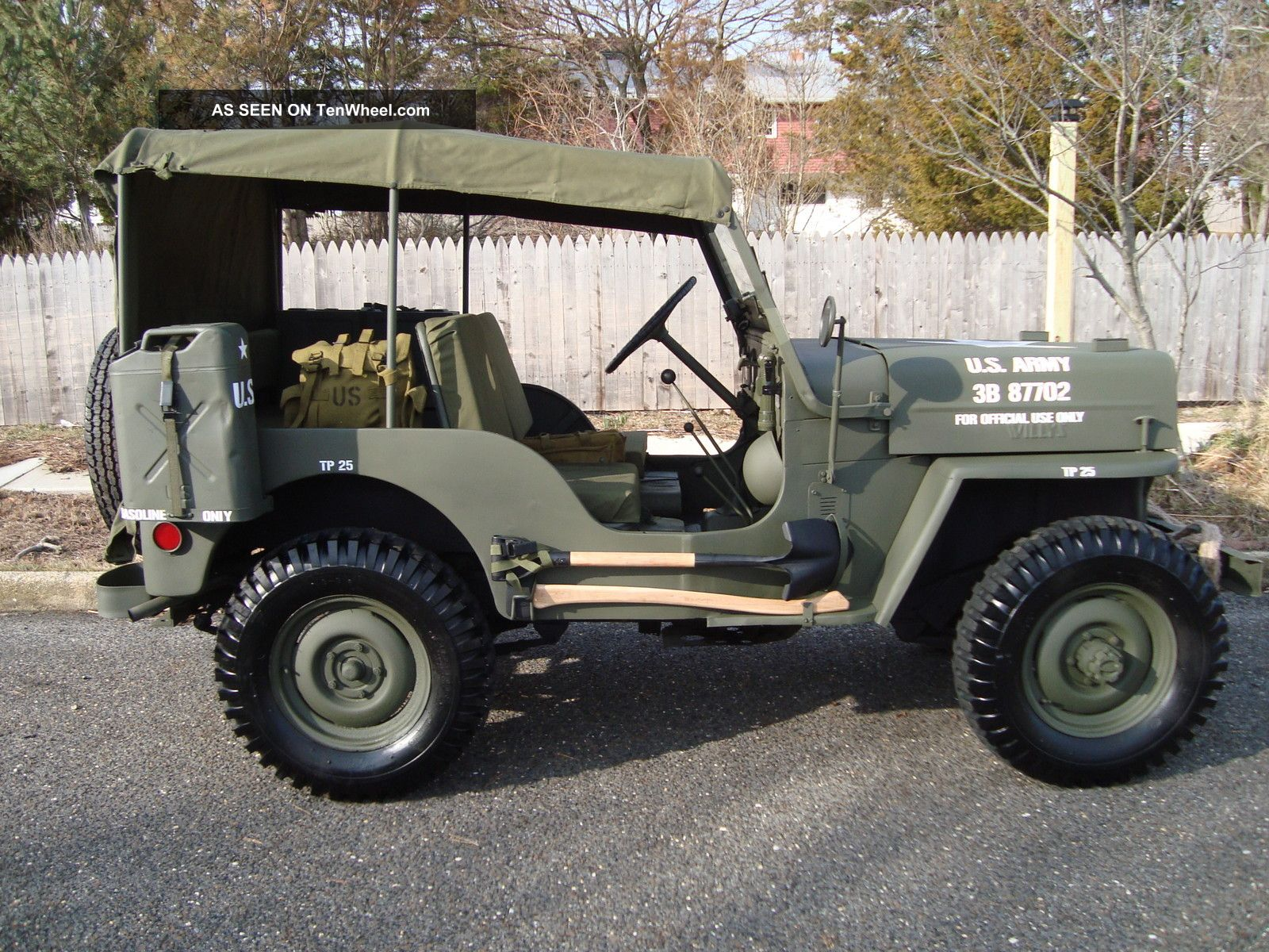 Willys CJ-3B #2