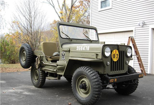 Willys CJ-3B #6