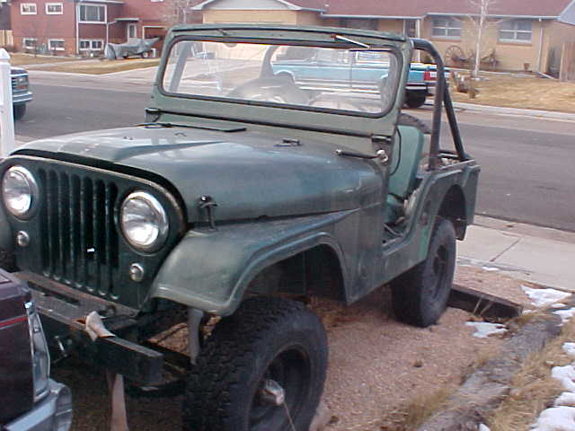 Willys CJ-5 1962 #6