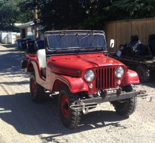Willys CJ-5 1962 #8