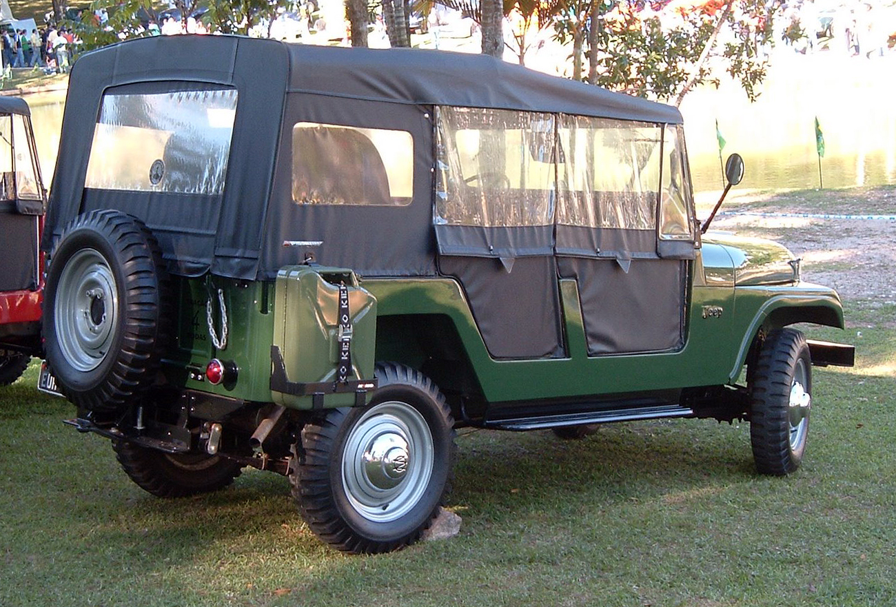 Willys CJ-6 1962 #1