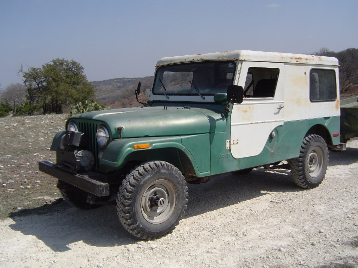Willys CJ-6 1962 #6