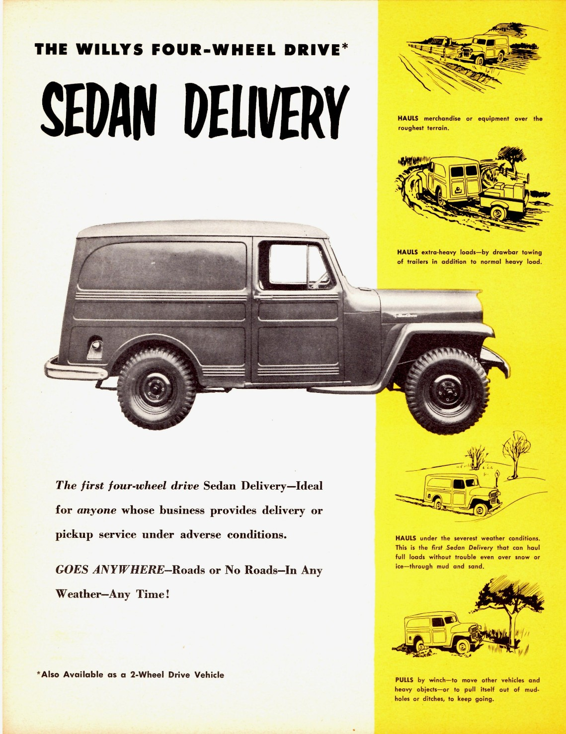 Willys Delivery 1955 #5