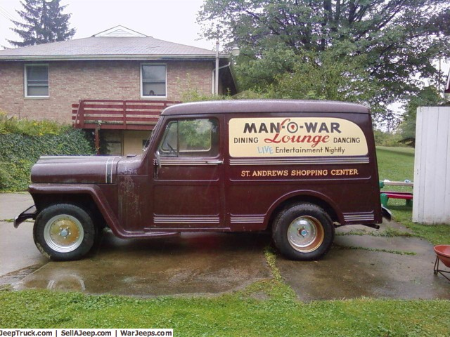 Willys Delivery 1957 #1