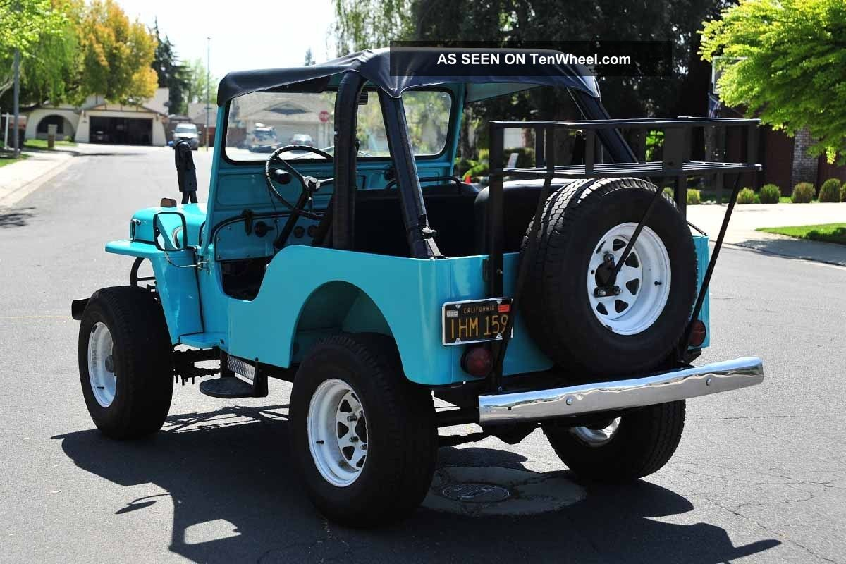 Willys Delivery 1960 #12