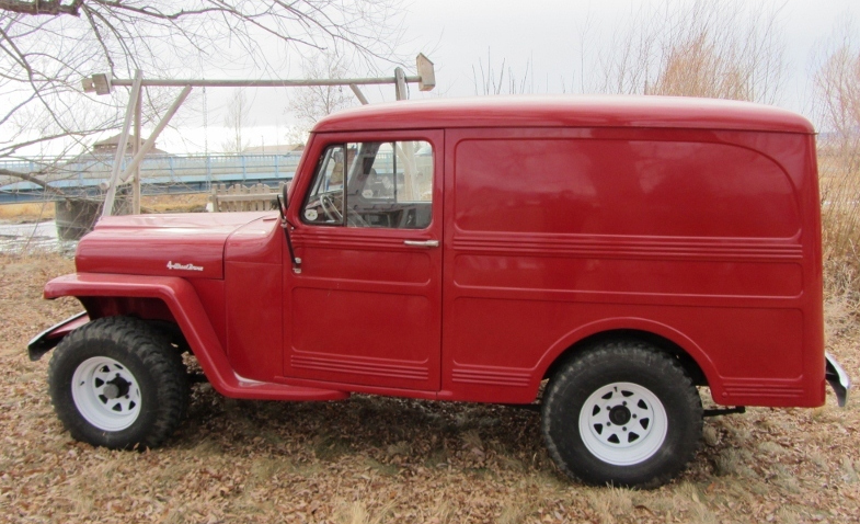 Willys Delivery 1960 #10