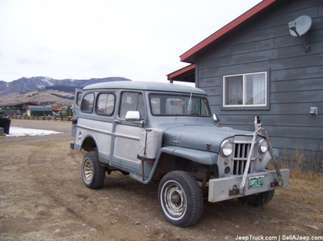 Willys Delivery 1961 #3