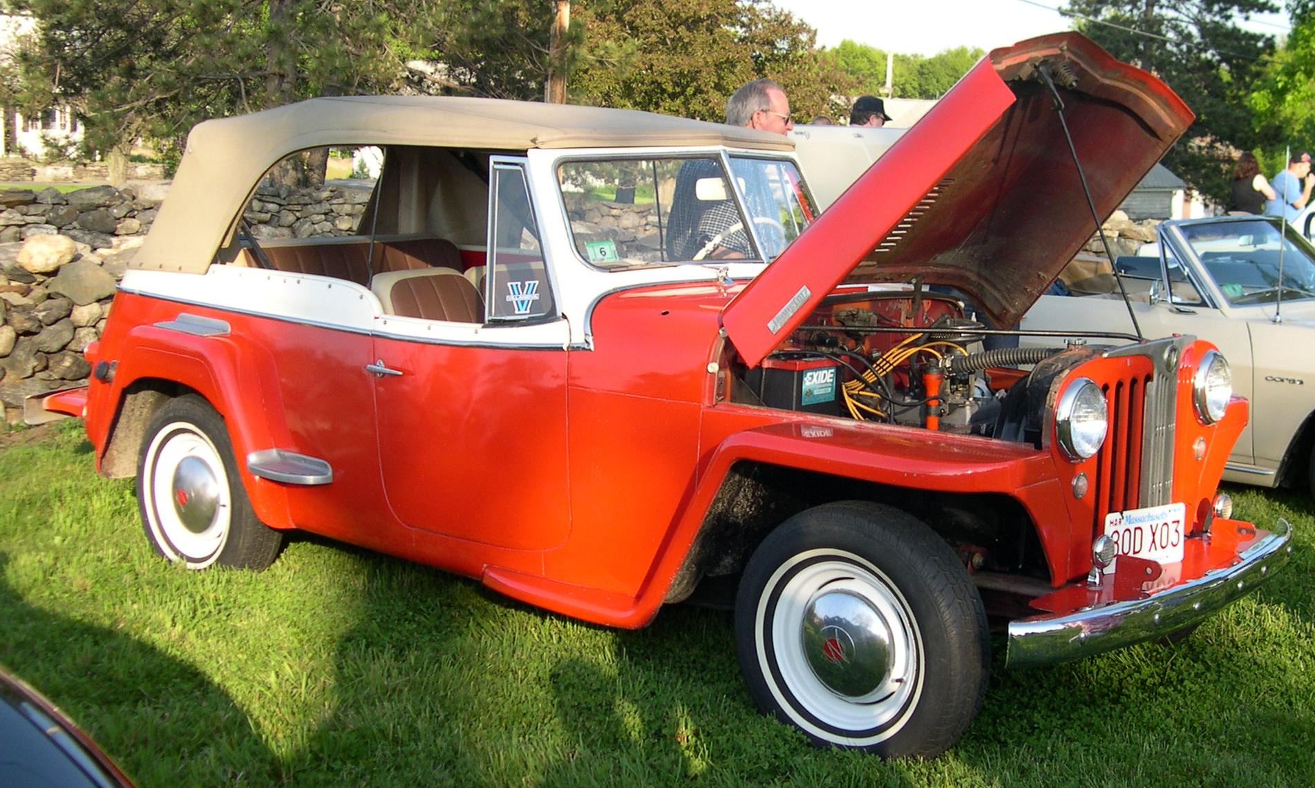 Willys Jeepster #1