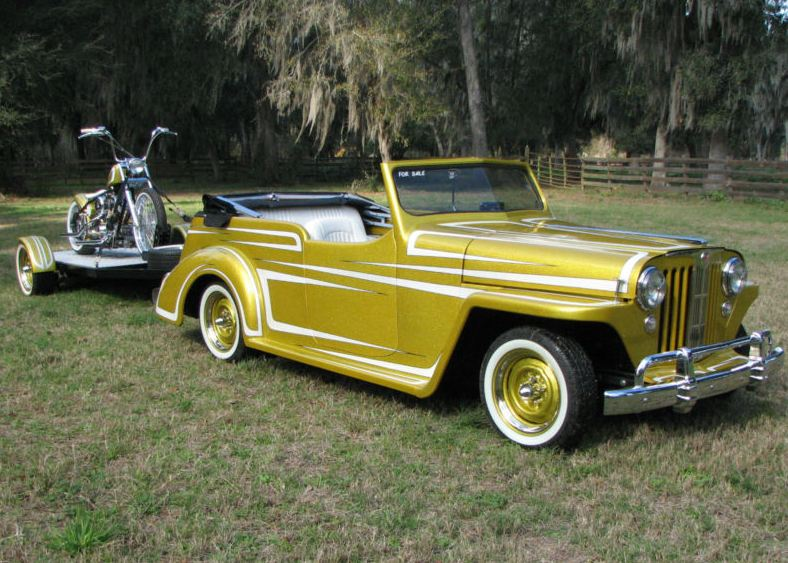 Willys Jeepster #15