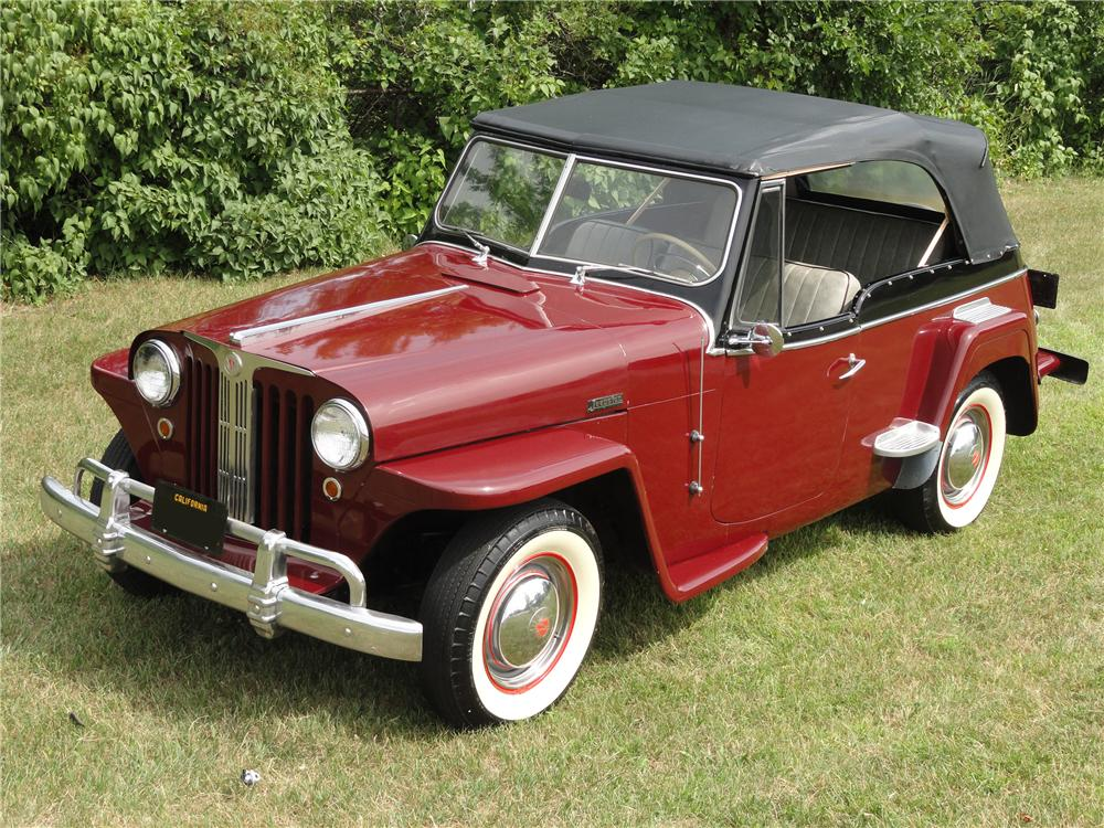 Willys Jeepster 1949 #14