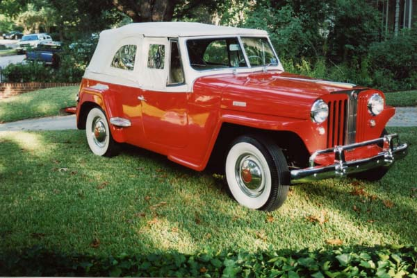 Willys Jeepster 1949 #5