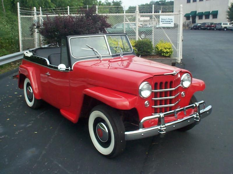 Willys Jeepster 1949 #7