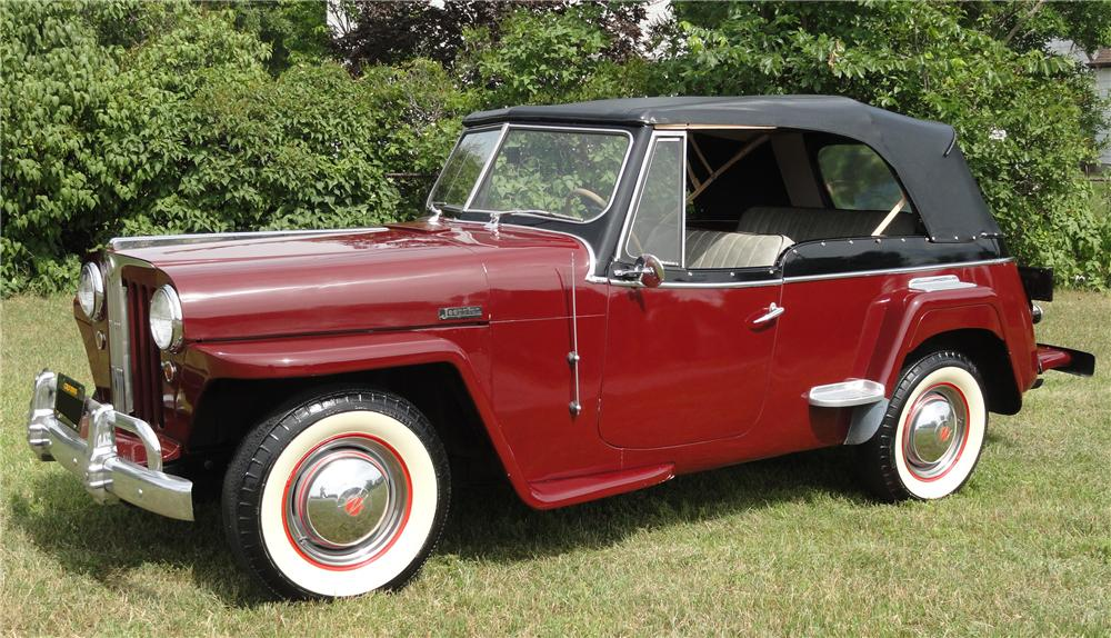 Willys Jeepster 1949 #8