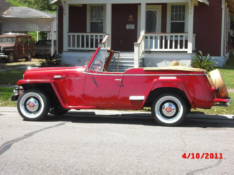 Willys Jeepster 1949 #9
