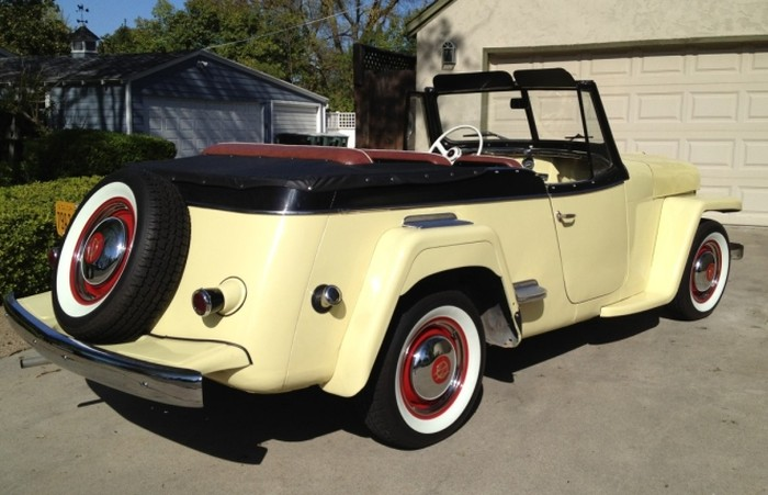 Willys Jeepster 1950 #12