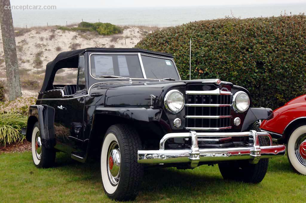 Willys Jeepster 1950 #13