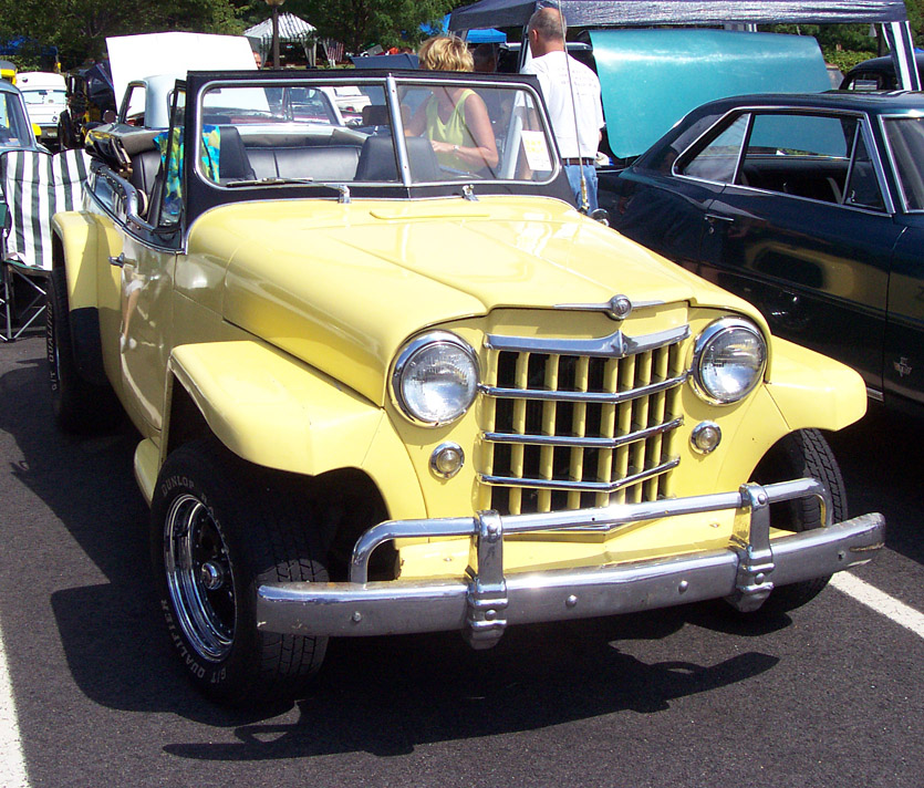 Willys Jeepster 1950 #14