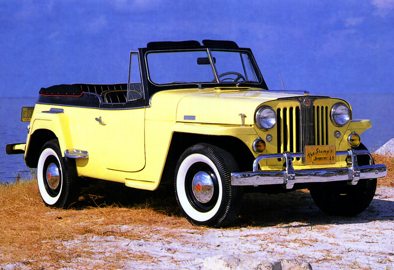 Willys Jeepster 1950 #15