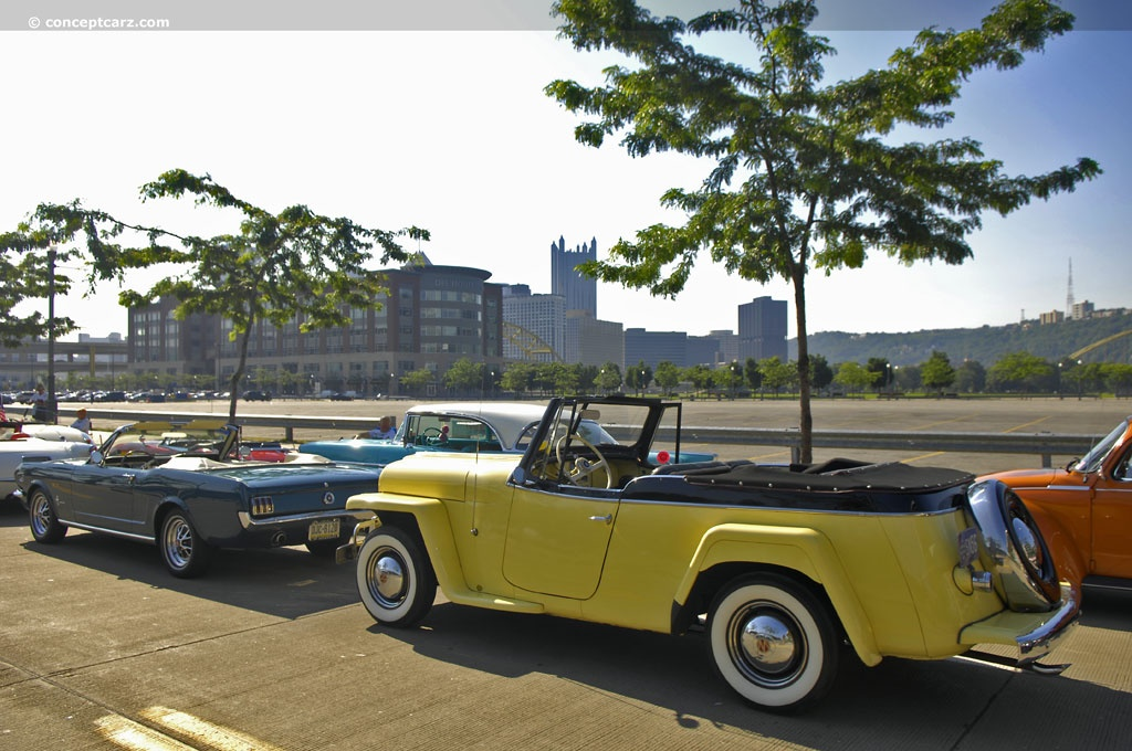 Willys Jeepster 1950 #6