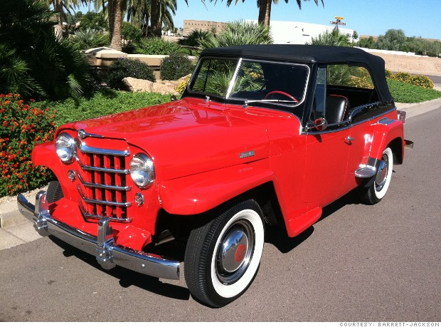 Willys Jeepster 1950 #7