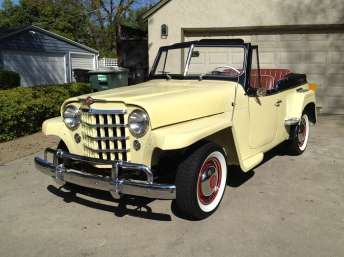 Willys Jeepster 1950 #8