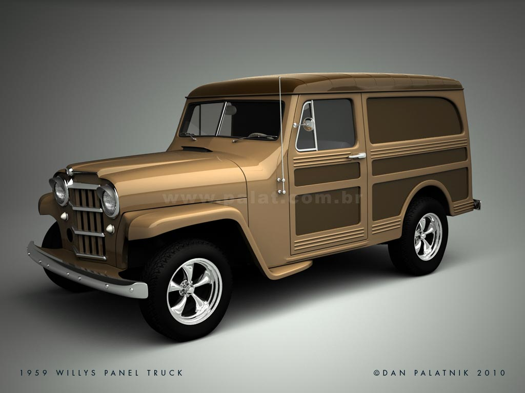1948 Willys Panel Information And Photos Momentcar