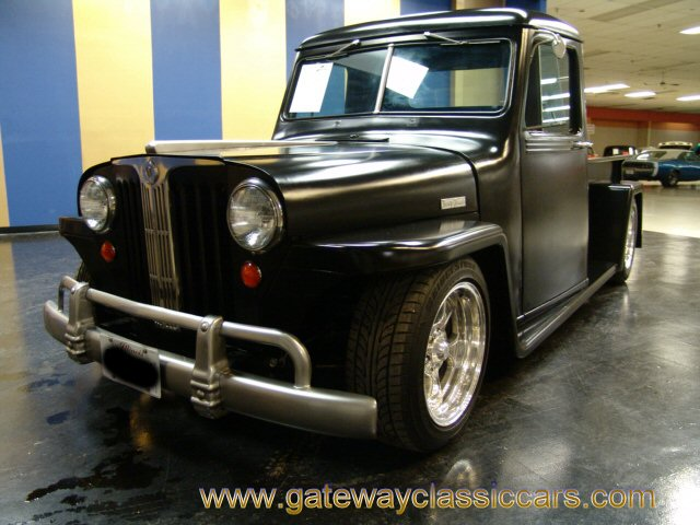Willys Pickup 1948 #12