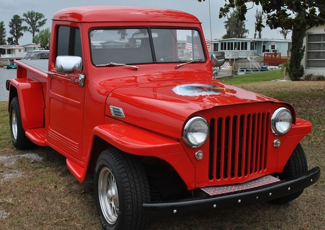 1948 willys pickup information and photos momentcar. Black Bedroom Furniture Sets. Home Design Ideas