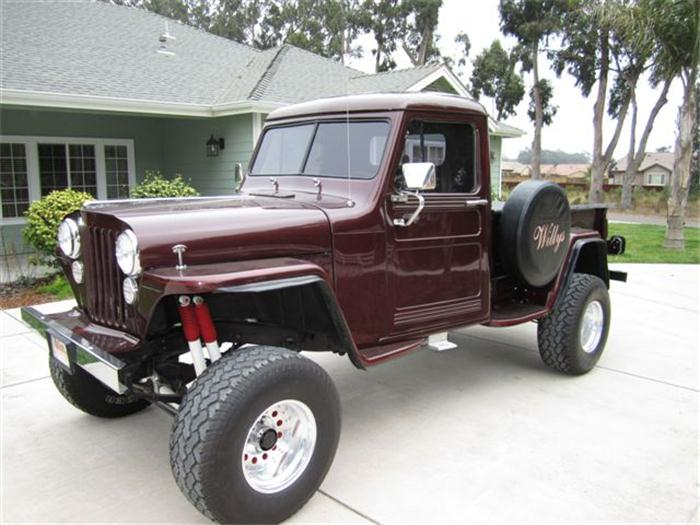 1949 willys pickup information and photos momentcar. Black Bedroom Furniture Sets. Home Design Ideas
