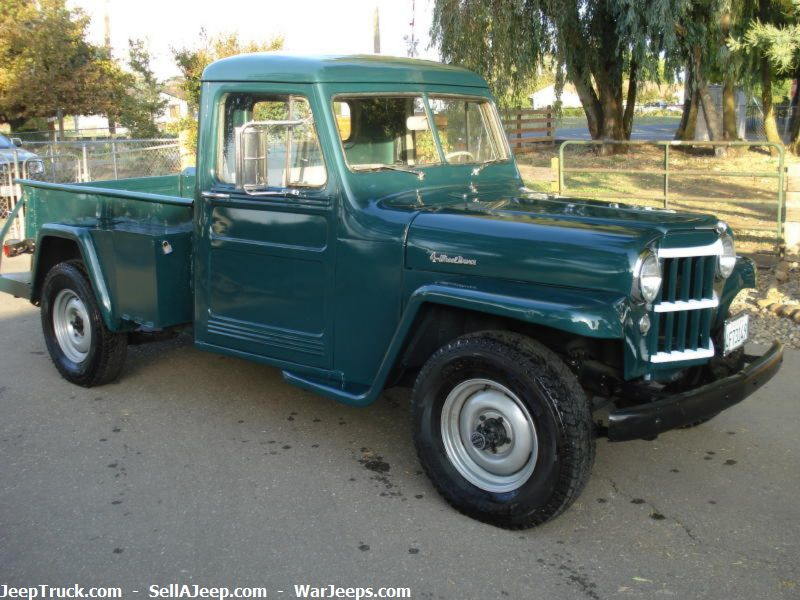 1953 willys pickup information and photos momentcar. Black Bedroom Furniture Sets. Home Design Ideas