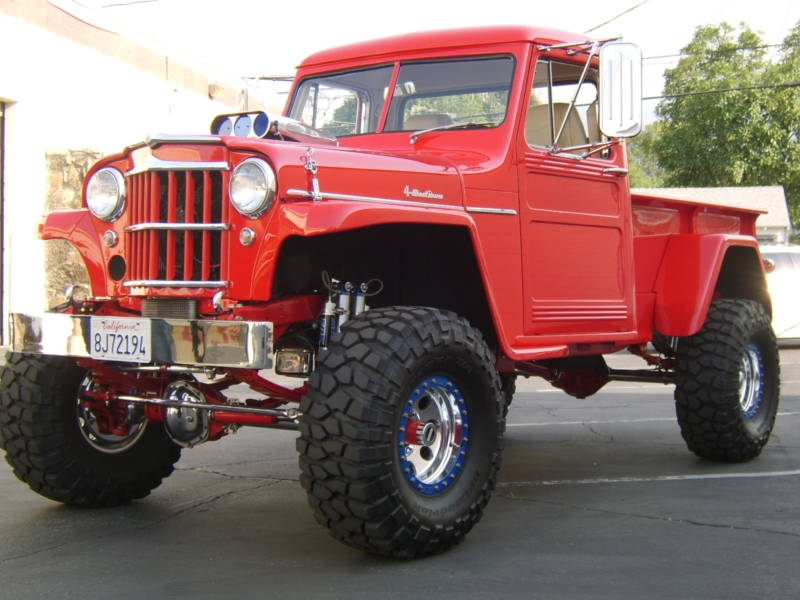 Jeep Willys 1955 >> WILLYS PICKUP - 218px Image #3