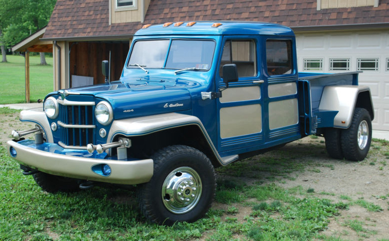 1955 willys pickup - information and photos
