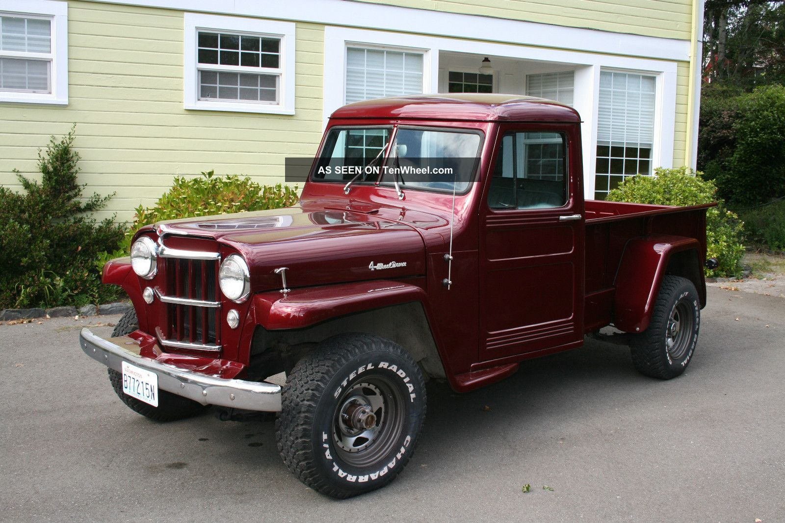 1955 Willys Pickup Information And Photos Momentcar