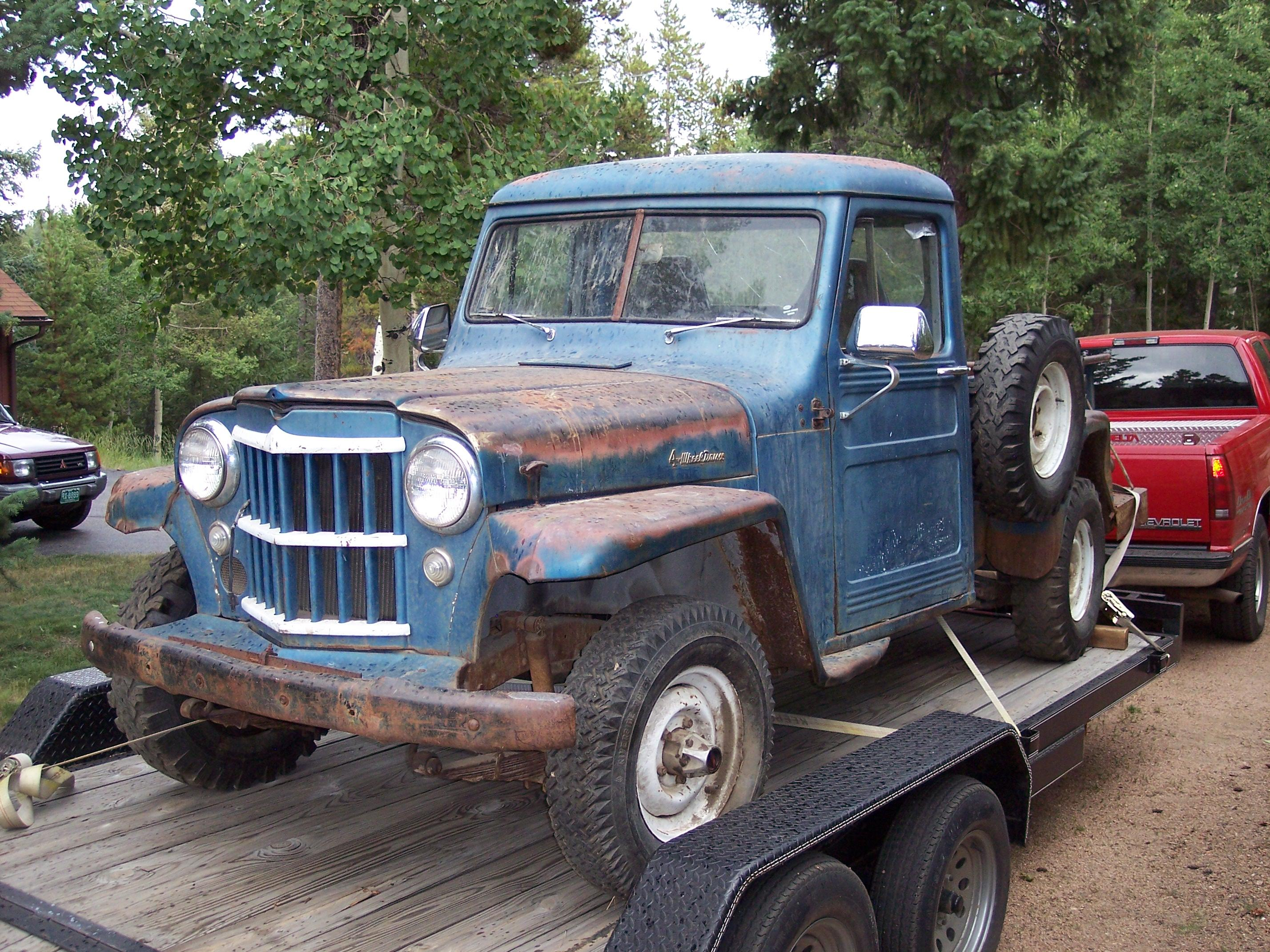 1956 Willys Pickup Information And Photos Momentcar