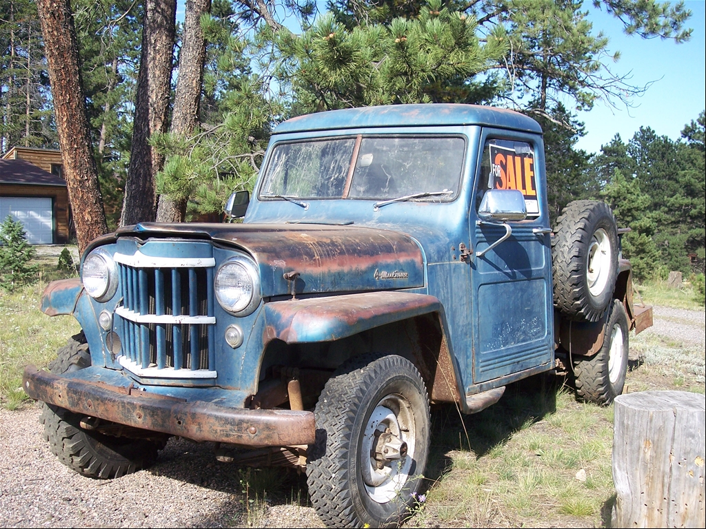 1957 Willys Pickup - Information and photos - MOMENTcar