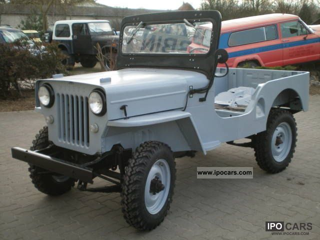 Willys Pickup 1958 #10