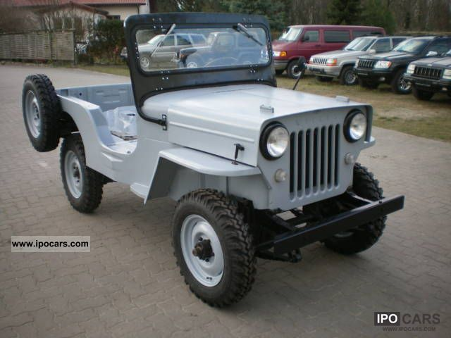 Willys Pickup 1958 #11
