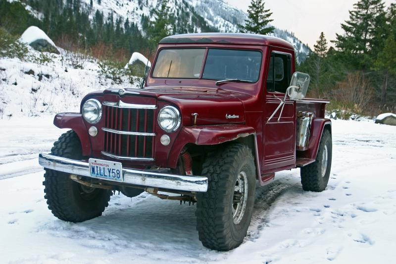 1958 Willys Pickup Information And Photos Momentcar