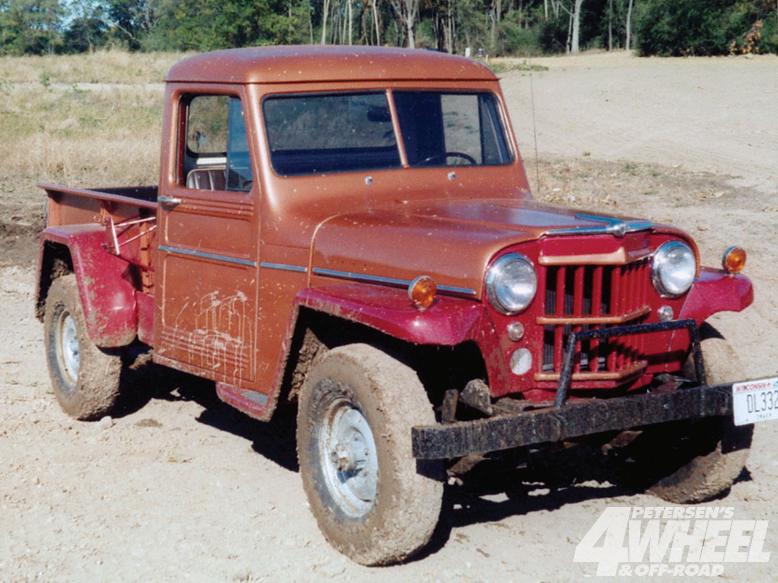 Willys Pickup 1958 #6
