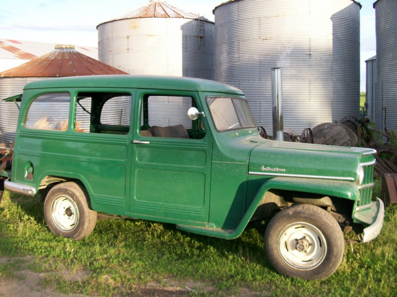 Willys Pickup 1958 #8