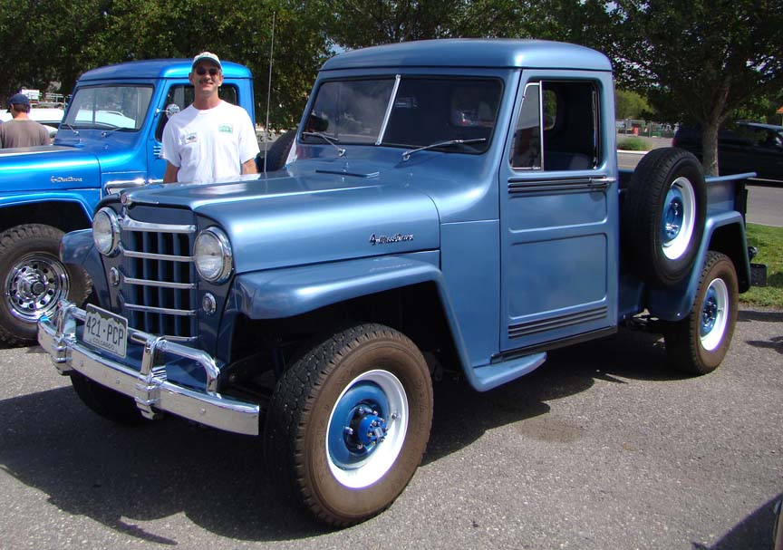 Willys Pickup 1959 #3