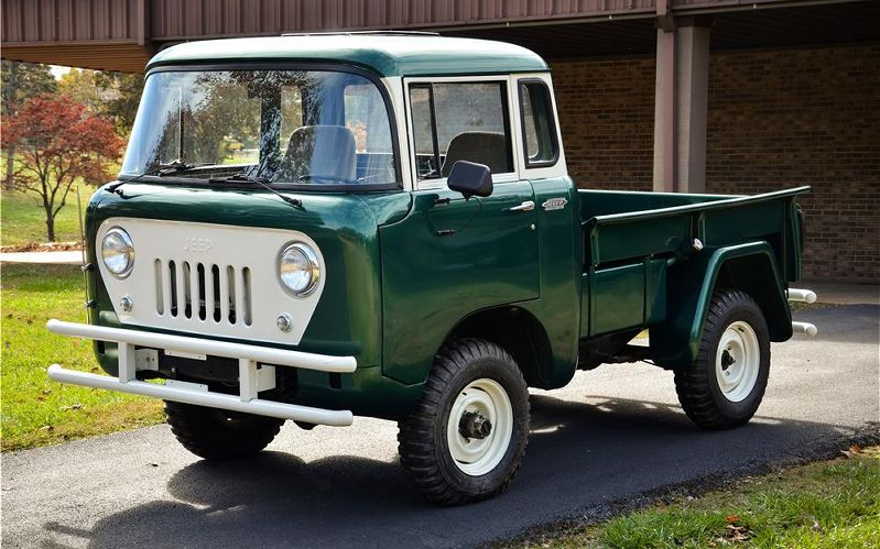1961 Willys Pickup - Information and photos - MOMENTcar
