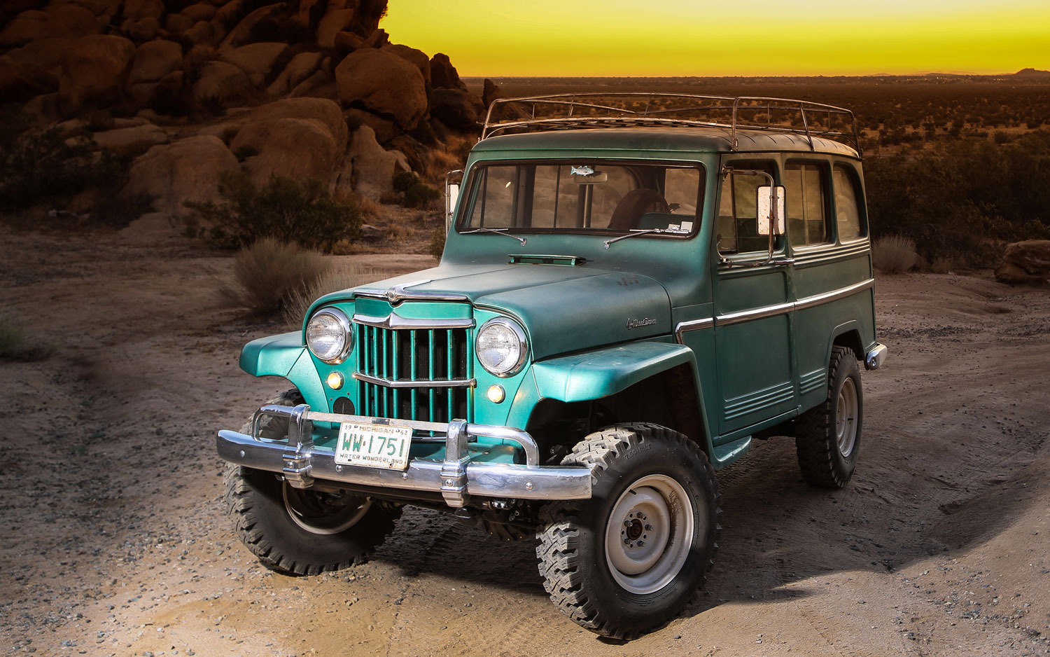 Willys Pickup 1962 #3