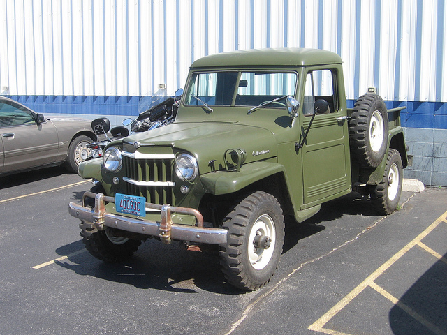 Willys Pickup 1962 #6