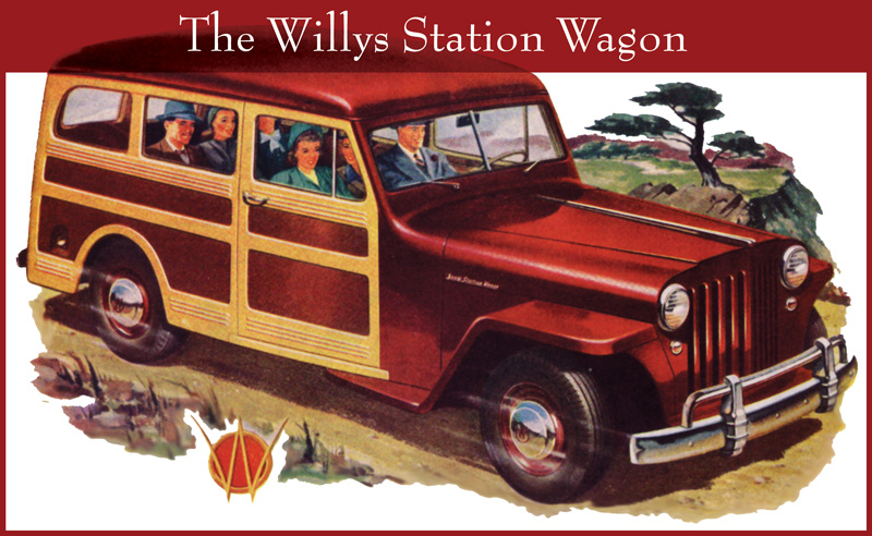 Willys Wagon 1946 #3
