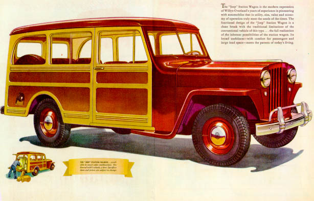 Willys Wagon 1946 #4