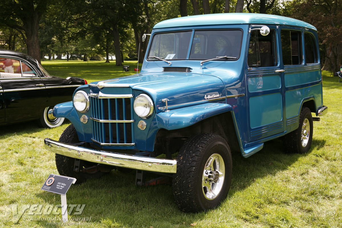 1953 Willys Wagon Information And Photos Momentcar 1941 Jeep Station 5