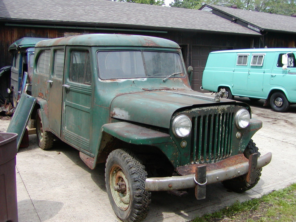 1954 Willys Wagon Information And Photos Momentcar 1941 Jeep Station 8
