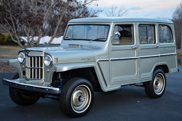 Willys Wagon 1960 #12